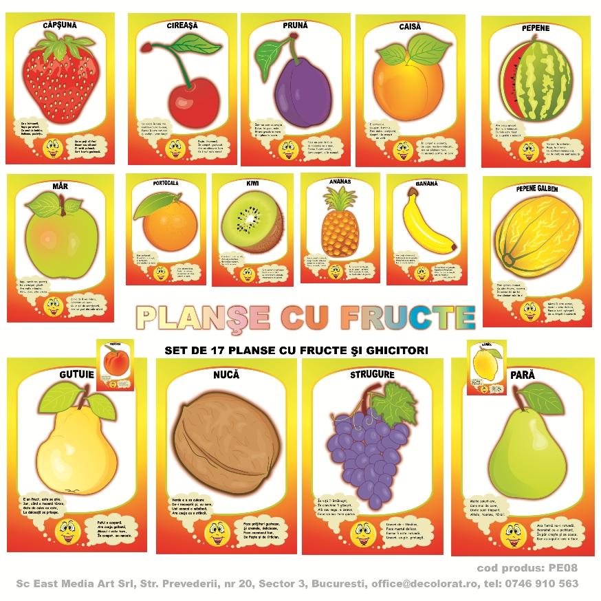 Planse De Colorat Fructe Si Legume Desene Cu Legume Vesele