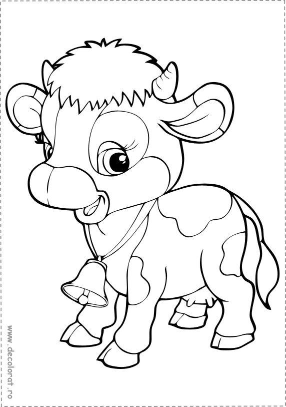 Desene De Colorat Animale Si Pasari Domestice